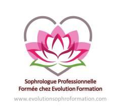 Logo Sophrologue formée chez Evolution